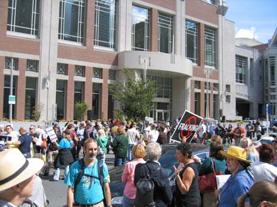 Philadelphia  Shale Gas Protest 2012
